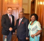 Visit of the Angolan Minister of External Relations