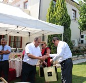Farewell Barbecue for H.E. Palestine and H.E. Egypt